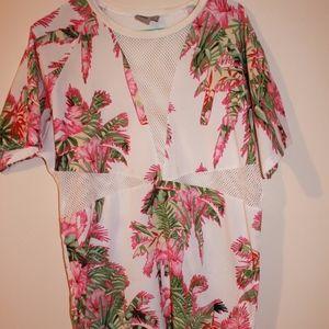 ASOS | mesh floral dress